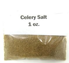 Celery Salt Ground 1 oz Culinary Herb Spice Use Ideas Included US Seller - $8.91