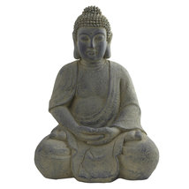 Buddha Statue (In-Door/Out-Door), Nearly Natural - $96.36