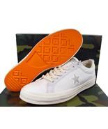 Converse x Carhartt WIP One Star Ox Sneaker Cordura Upper WHITE 162821C ... - $110.00
