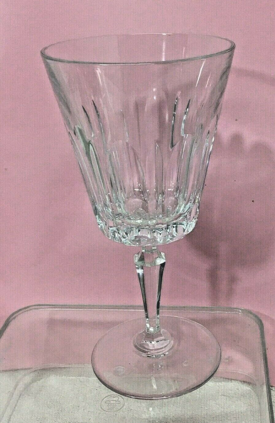 Val St Lambert Fidelio 1968 - 1971 Water Goblet 7 1/4 Inches Excellent Shape  - $19.80
