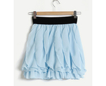Chiffon petals skirt lt blue thumb155 crop