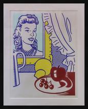 """Roy Lichtenstein """"Still Life With Portrait"""" 1974 - Hand Signed Print - G... - $35,000.00"""