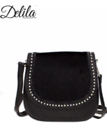 Delila by Montana West Genuine Leather Hair on ... - $99.99