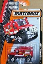 MATCHBOX 4 X 4 SCRAMBULANCE MBX HEROIC RESCUE # 98 OF 120  - $4.94