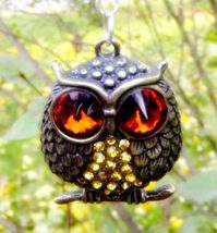 Wise Insights Psychic Spell Cast Owl Pendant See Truth Personal Transfor... - $59.00