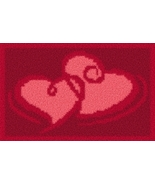 Latch Hook Rug Pattern Chart: VALENTINE SPECIAL - EMAIL2u - $5.75