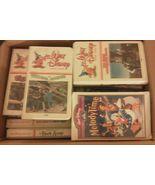Lot of 54 VHS Disney Movies Classics Hard To Fi... - $64.94