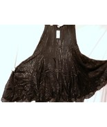 New With Tags Charter Club Metallic Flare Skirt 6 L - $15.00