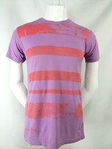 Unisex American Apparel Designer Multi Color Punk Rock Short Sleeve T Shirt S - $39.95
