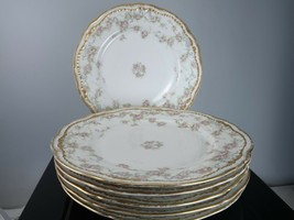 """Haviland Limoges Schleiger 340 Dinner Plates 9.5"""" set of 6 - $229.08"""