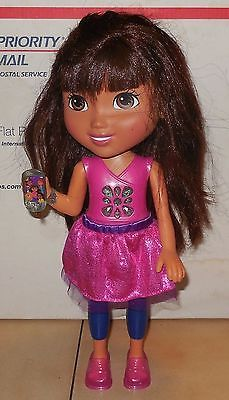 Primary image for 2013 Mattel Teenage Talking Dora Doll with Cell Phone GUC Nickelodeon