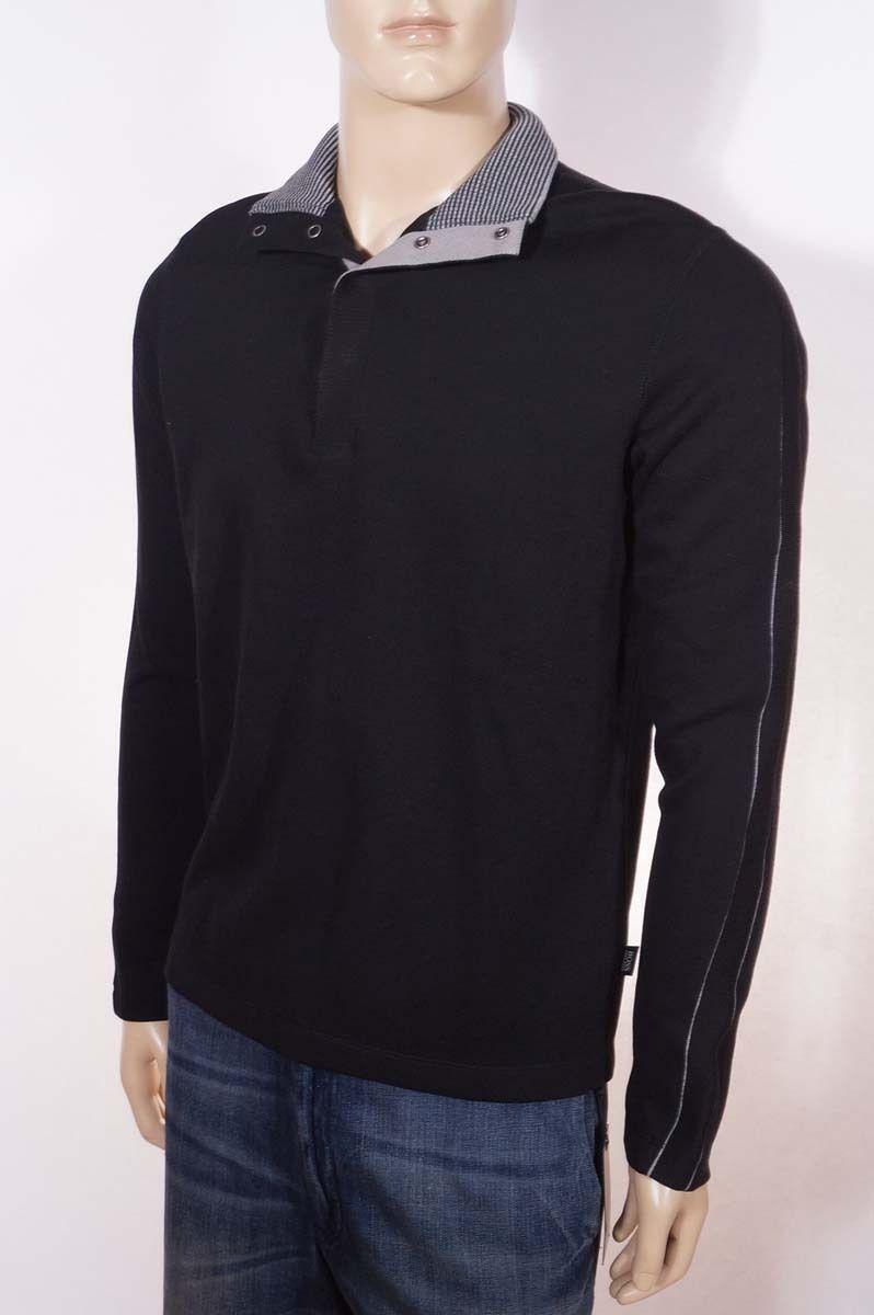 Raisin Size M The Men/'s Store at Bloomingdale/'s Merino Crewneck Sweater $88