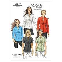 Vogue Patterns V8747 Misses' /Misses' Petite Shirt, Size D5 (12-14-16-18... - $14.65