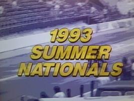 Motorcycle Drag Racing DVD 1993 PROSTAR SUMMERNATIONALS Elmer TRETT-Neal... - $6.00