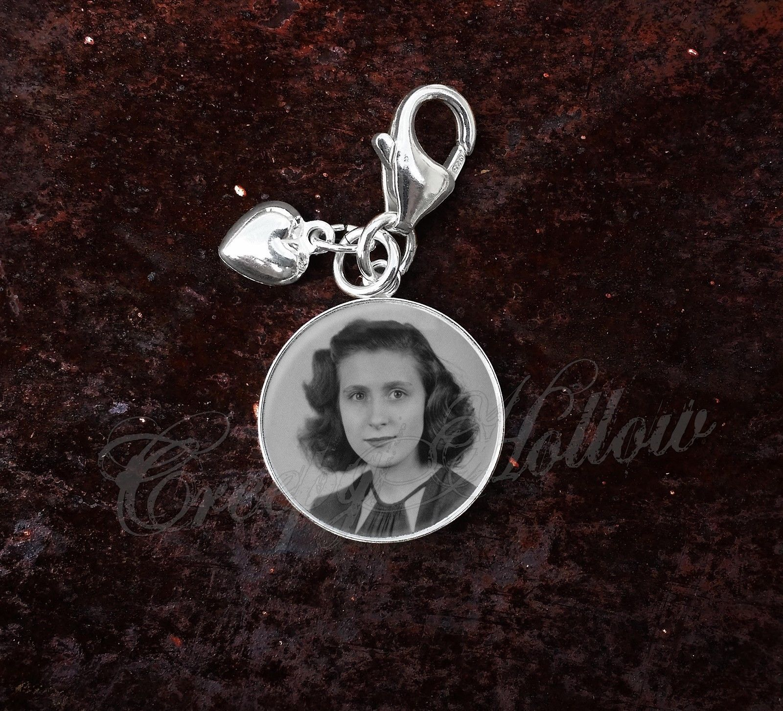 Primary image for 925 Sterling Silver Charm Your Custom Image Keepsake Photo Picture