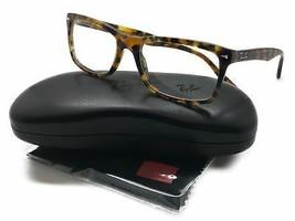 Ray-Ban RB5287 5712 54 Tortoise Full Rim Rectangular Eyeglasses Frame - $87.27