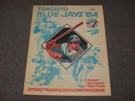 Toronto Blue Jays 1984 Spring Training Baseball Souvenir Program - $12.00
