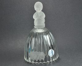 Goebel Crystal Bell Praying Girl 1978 Engrave mark sticker - $9.50