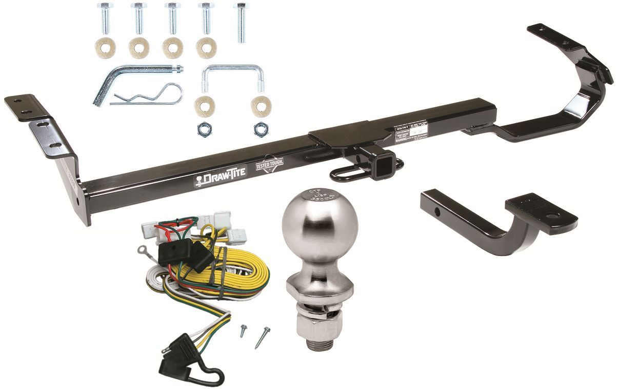 Toyota Trailer Hitch Package 71 Listings Wiring Kit Complete W For 1997 2001 Camry Drawtite 22171