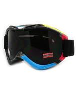Ski Snowboard Goggles Anti Fog Shatter Proof Lens Geometric Design - $18.95