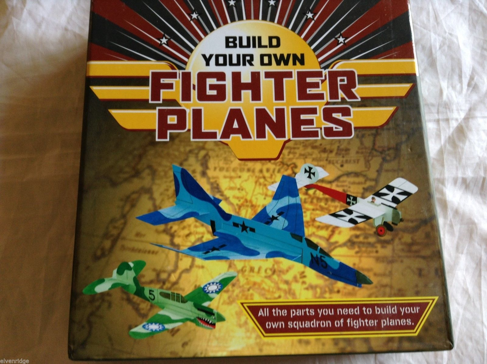 Build your own Fighter planes kit-18 projects