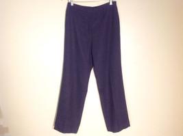 No Brand Women's Size 10 Dark Gray 100% Wool Fully Lined Dress Pants Slacks
