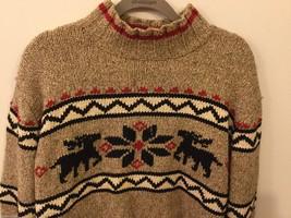 Womens Eddie Bauer Petite Winter Sweater w/ Design, Size Petite Small
