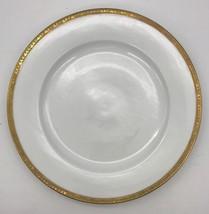 F A Schumann China Platter Gold Rim Grape IvyBerlin Germany Hoflieferant... - $47.49