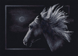 Moonlit Horse Cross Stitch Kit Panna - $29.00