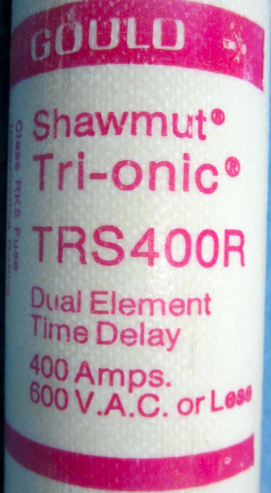 Nice Ferraz Shawmut TRS400R Amp Fuse TRS-400-R Bussmann FRS R 400  600 Volt