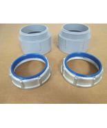 "*Set of 2* T&B/Carlon 1229/E943L  3"" Insulated Throat Bushing & PVC Male... - $7.92"