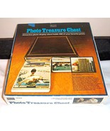 """PHOTO Albums 200 Flip Pictures TREASURE CHEST Vintage NEW Sears 3"""" x 5"""" - $26.95"""