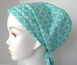 Pretty Geometric Chemo Cancer Hat Hair Loss Scarf Turban Head Wrap Alopecia  - $16.95
