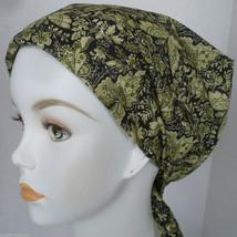 Elegant Butterflies Cancer Chemo Hair Head Wrap Bad Hair Day Scarves Hat Turban  - $16.95
