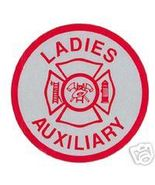 LADIES AUXILIARY - FIRE DEPARTMENT Highly Reflective Maltese Cross decal - $1.93