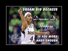 Inspirational Skylar Diggins Basketball Motivation Poster Birthday Gift ... - $19.99+