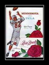 Minnesota UCLA 62 Rose Bowl Football Program Co... - $16.99