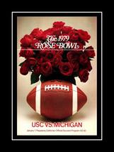 Michigan-USC Football Program Cover Poster 1979... - $16.99 - $29.99