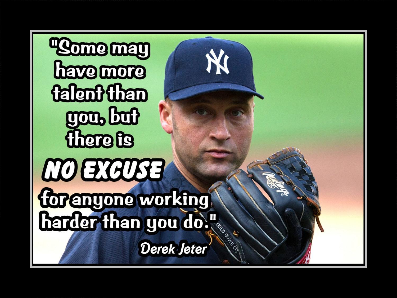 Inpirational Derek Jeter Baseball Motivation and 50 similar ...