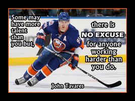 John Tavares Hockey Inspiration Poster, SON Motivation Wall Decor, Coach... - $17.99+