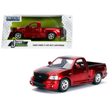 1999 Ford F-150 SVT Lightning Pickup Truck Candy Red with Black Stripes ... - $31.82