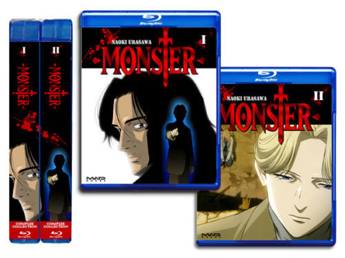 Naoki Urasawa's Monster Complete Bluray BD BOX Collection 1-74 ENGLISH