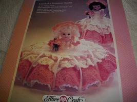 Merry Sunshine Crochet Doll Dress Pattern - $5.00