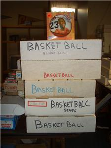 Primary image for LOT OF 500 OLD BASKETBALL CARDS.02 per card