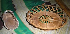 Miniature Baskets Doll House Furniture - $3.00