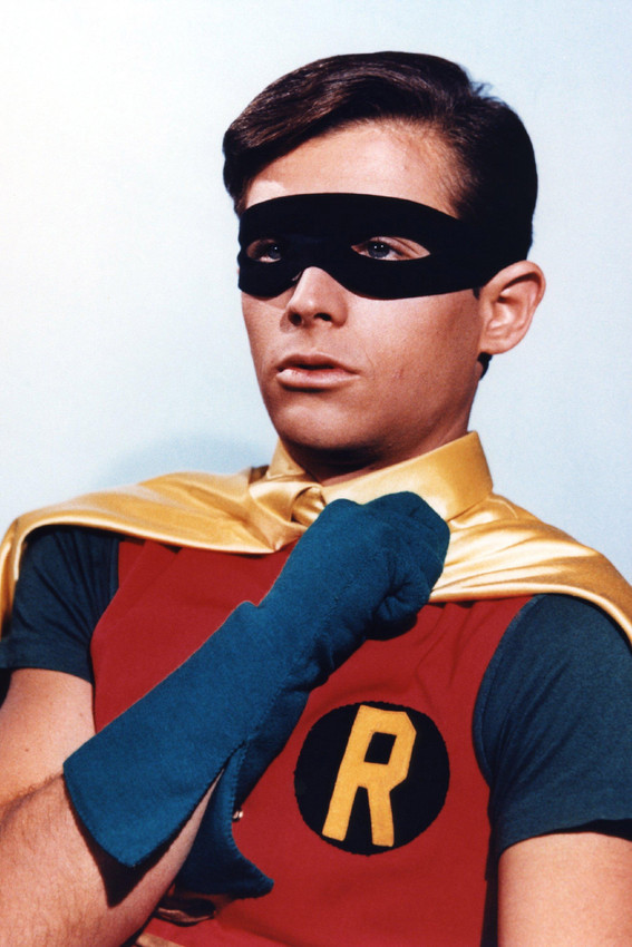 Primary image for Batman Burt Ward Portrait As Robin 18x24 Poster