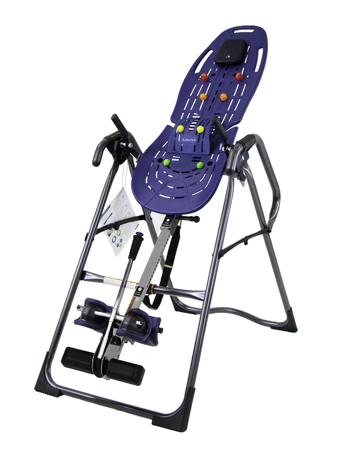 Teeter hang ups ep 970 ltd inversion table certified for Table inversion