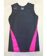 INTENSITY ATHLETICS Juniors Volleyball Training Jersey S • Gunmetal & Ne... - $11.83