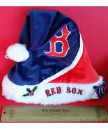 Baseball MLB Unisex Clothes Hat Boston Red Sox Santa Major League Sport ... - $14.24