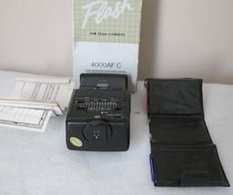 SPECTRUM 4000 AF/C FLASH FOR 35 MM CAMERA MANUAL COLORED LENSES ORIGINAL... - $10.17